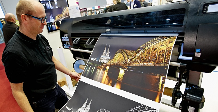Photo: viscom: The world of digital printing is coming to Frankfurt...