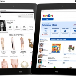 Thumbnail-Photo: Salesfloor Storefront for stores brings online service and...