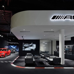 Thumbnail-Photo: Mercedes-AMG: New retail concept in Tokyo
