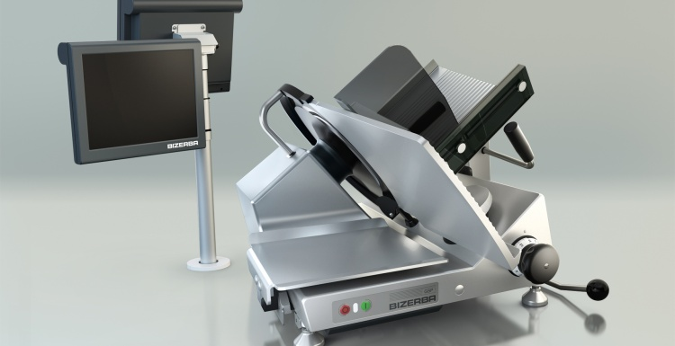Photo: Connected Slicing, Weighing and Labeling in a Single Step...