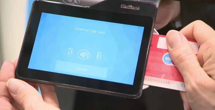 Photo: Solutions for the Connected World from Verifone...