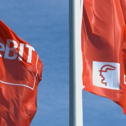 Thumbnail-Photo: CeBIT presented solutions for the retail industry...