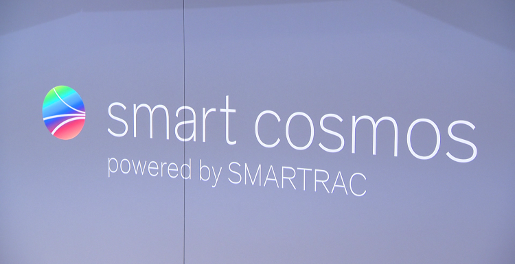 Photo: EuroShop 2017: real time retail operations with smart cosmos solutions...