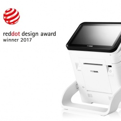 Thumbnail-Photo: Posbank DCR wins the Red Dot Design Award 2017...