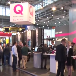 Thumbnail: Photo: QUAD GmbH experiences a successful performance at EuroShop 2017...
