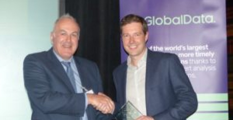 Photo: Best UK retailer of the public at GlobalData's 2017 customer...