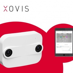 Thumbnail-Photo: Xovis – people flow monitoring for the IoT age...