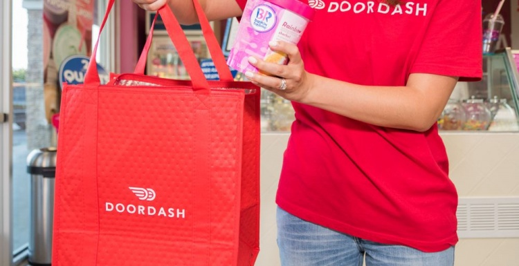 Photo: Baskin-Robbins launches ice cream delivery with DoorDash...