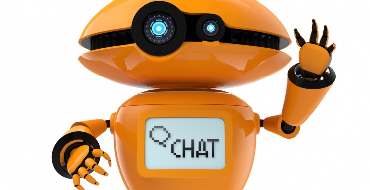Orange chatbot; copyright: panthermedia.net / chesky_w...