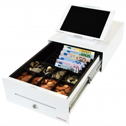 Thumbnail: Photo: Sleek and small cash drawer solutions attract large cosmetic chains...