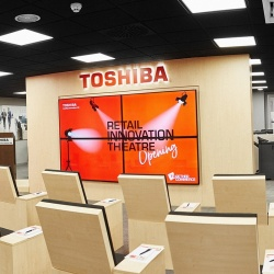 Thumbnail: Photo: Toshiba opens Retail Innovation Theatre in Madrid...