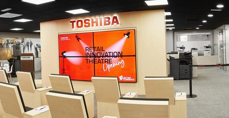 Photo: Toshiba opens Retail Innovation Theatre in Madrid...