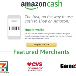 Thumbnail-Photo: 7-Eleven gives unbanked access to online shopping with Amazon Cash...