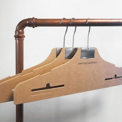 Thumbnail: Photo: Renewable, economical and intelligent clothes hanger...
