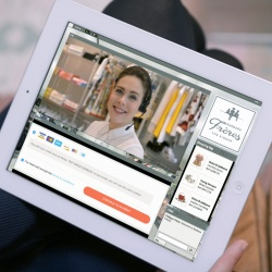 Thumbnail: Photo: Live video shopping: in-store personal shopping assistance for online...