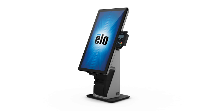 Photo: Elo introduces the future of self-service with new Wallaby stands...