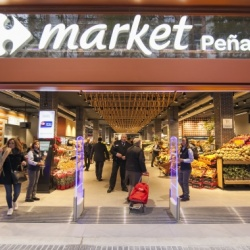 Thumbnail: Photo: Carrefour's Market Peñalver store wins Best food and Supermarket...