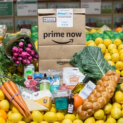 Thumbnail: Photo: Amazon launching Whole Foods Market delivery service...