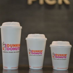 Thumbnail-Photo: Dunkin' Donuts to eliminate all polystyrene foam cups in its global...