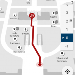 Thumbnail: Photo: Favendo realizes indoor navigation for Karstadt in Düsseldorf...