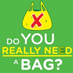 Thumbnail: Photo: Encouraging retailers to introduce voluntary plastic bag charging...