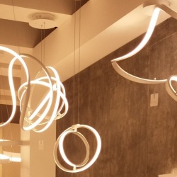 Thumbnail-Photo: Decorative lights for the store