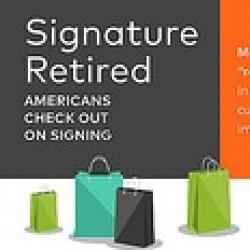 Thumbnail: Photo: Mastercard retires customer signatures