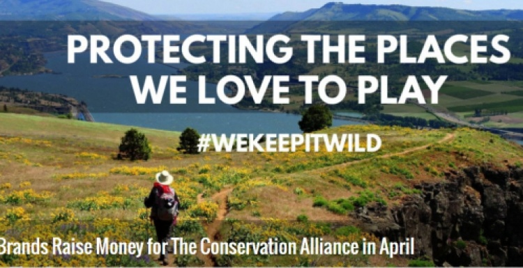 Screenshot of the Conservation Alliance