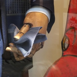 Thumbnail: Photo: Attention to detail: Window shopping in Monforte de Lemos and Ourense...