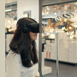 Thumbnail: Photo: Virtual commerce: shopping in a different reality...