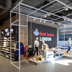 Thumbnail: Photo: What shop design can look like: Foot Locker in London...