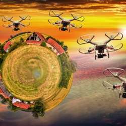 Thumbnail-Photo: Things are buzzing in Iceland: food delivery by drone...