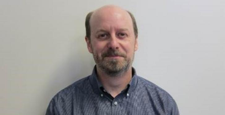 Photo of APGs Ron Stephenson, new connectivity product manager; copyright: APG...