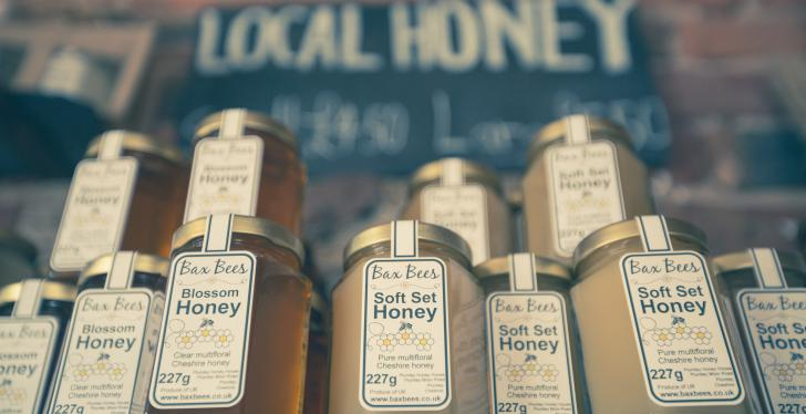 Honey; Copyright: Jonathan Farber/Unsplash