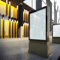 Thumbnail-Photo: DOOH displays are engaging