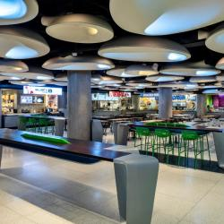 Thumbnail-Photo: New Union Station Food Court lighting atmosphere...