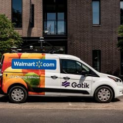 Thumbnail-Photo: Walmart begins pilot with autonomous vehicle company Gatik...