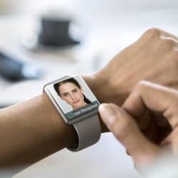 Thumbnail-Photo: Infrared-LEDs from Osram enable face recognition in smartwatches...
