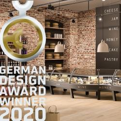 Thumbnail-Photo: Epta on the podium of the German Design Awards 2020...