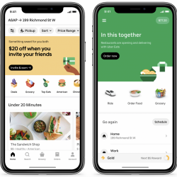 Thumbnail-Photo: Uber & Cornershop: introducing grocery delivery...