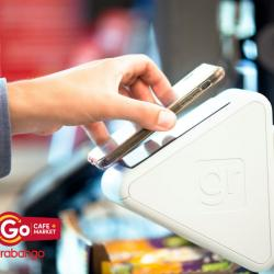 Thumbnail-Photo: Checkout-free service at Giant Eagle's GetGo Café+Market store...