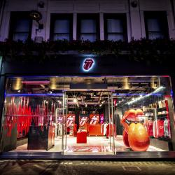 Thumbnail-Photo: The Rolling Stones open 'world exclusive' flagship store in London...