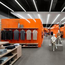 Thumbnail-Photo: A bold stroke: the new Joe Fresh flagship store...