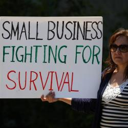 Thumbnail-Photo: COVID-19 lockdowns kill small businesses