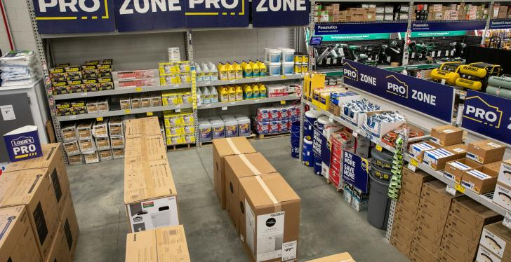 Pro Zone at Lowes