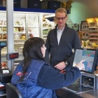 Thumbnail-Photo: Exhibitors report on new checkout counter orders...