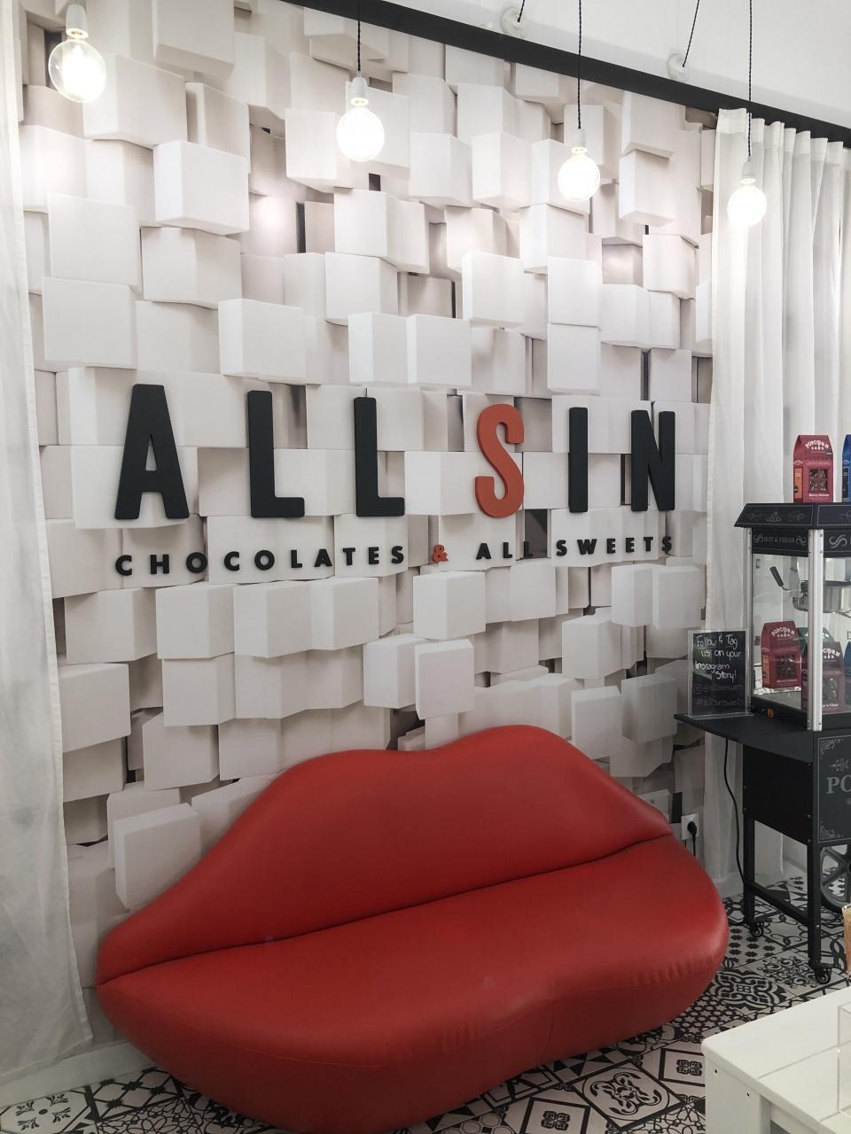 Chocolaterie Allsin Store Design In Barcelona Ixtenso Magazine For Retailers