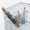 Photo: The little something extra for shopping carts...