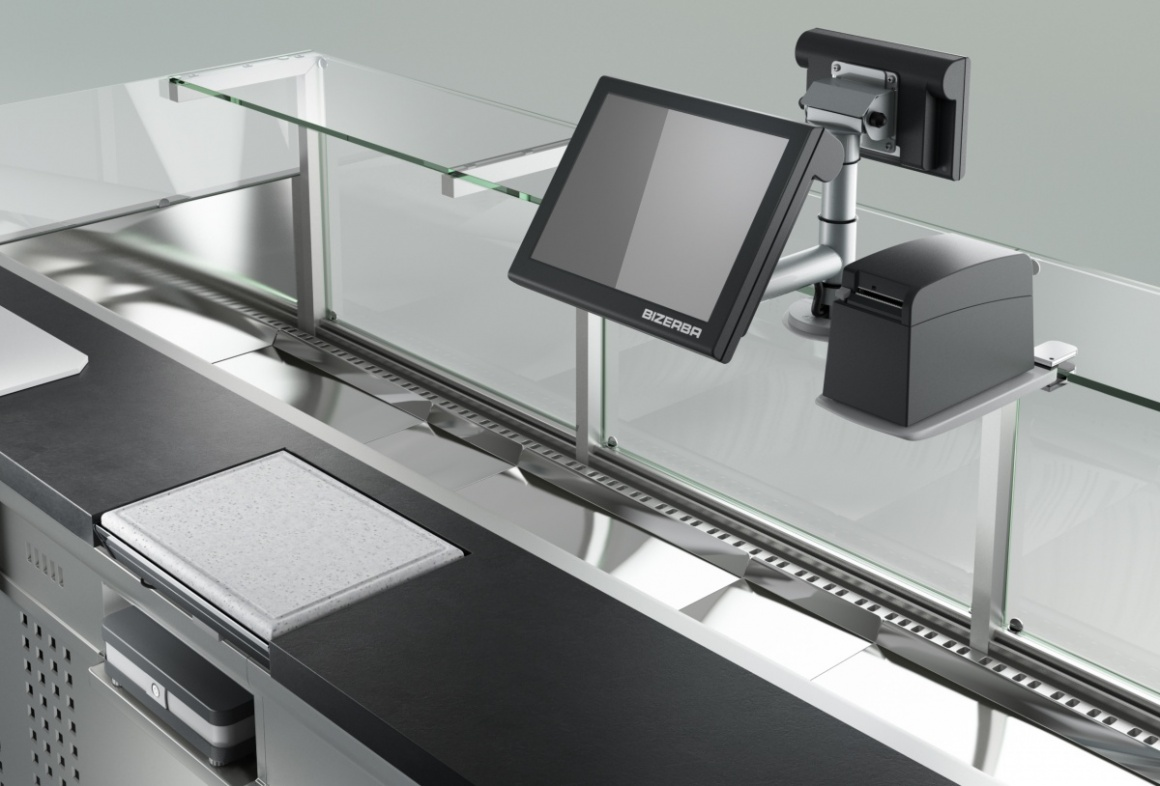 The modular K-Class Flex POS and weighing system.