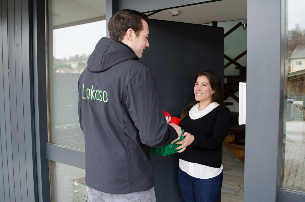 Lokaso stands out from market by offering same-day delivery....